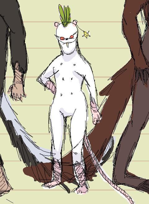 Phooey Character Sheet Sketch